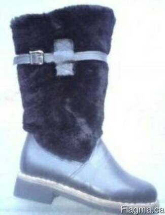 Boots of sheepskin