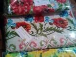 Скатерти , полотенца в украинском стиле, лён - рогожка, хлоп - фото 3