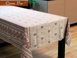 Скатерти , полотенца в украинском стиле, лён - рогожка, хлоп - фото 5