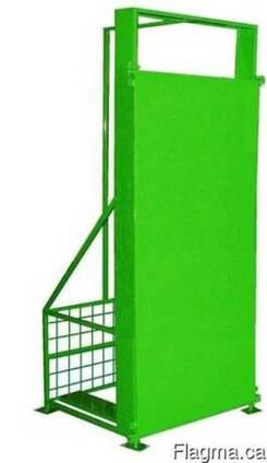 Антивандальный защитный корпус, ящик, короб, шкаф, каркас