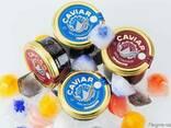 Natural black caviar of Russian sturgeon - photo 4