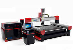 CNC waterjet metal glass stone cutting machine