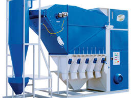 Grain cleaning machine CAD-30 with cyclone