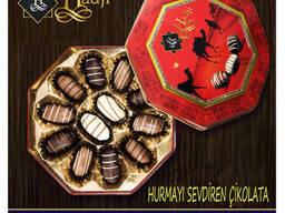 """Hadji"" chocolate dates with almonds - photo 1"