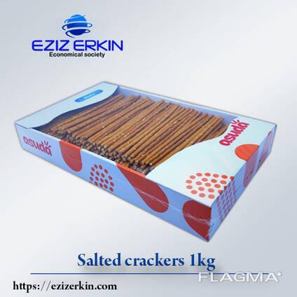 Крекеры солёные «Taýajyk» - 1000грам.