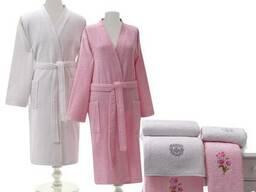 Махровые халаты плотность 320-450 .100% хлопок - фото 4