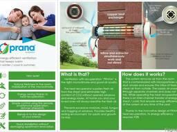 Recuperator - energy-saving ventilation system